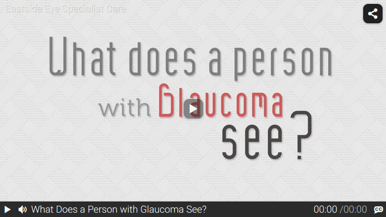 Video: What Does a Person with Glaucoma See?