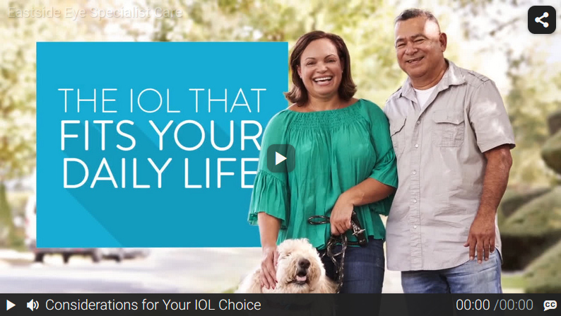 Video: Considerations for Your IOL Choice