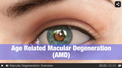Video: Age Related Macular Degeneration